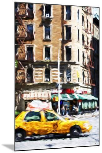 Taxi Driver - In the Style of Oil Painting-Philippe Hugonnard-Mounted Giclee Print