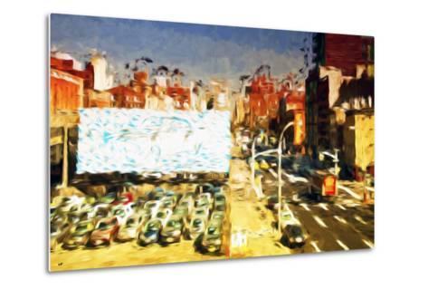 Car Park II - In the Style of Oil Painting-Philippe Hugonnard-Metal Print