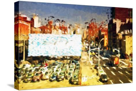 Car Park II - In the Style of Oil Painting-Philippe Hugonnard-Stretched Canvas Print