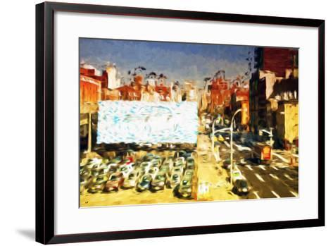 Car Park II - In the Style of Oil Painting-Philippe Hugonnard-Framed Art Print