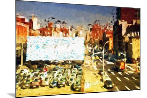 Car Park II - In the Style of Oil Painting-Philippe Hugonnard-Mounted Giclee Print