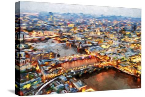London Cityscape I - In the Style of Oil Painting-Philippe Hugonnard-Stretched Canvas Print