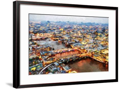 London Cityscape I - In the Style of Oil Painting-Philippe Hugonnard-Framed Art Print