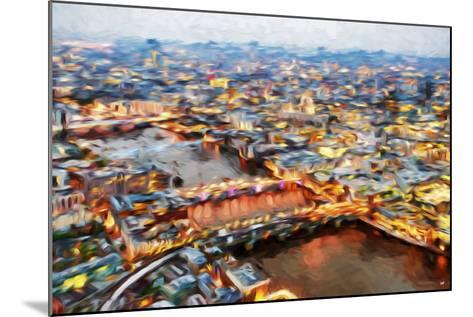 London Cityscape I - In the Style of Oil Painting-Philippe Hugonnard-Mounted Giclee Print