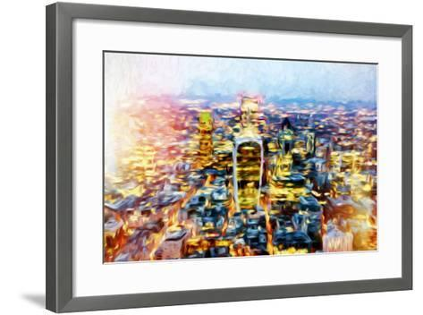 London Cityscape II - In the Style of Oil Painting-Philippe Hugonnard-Framed Art Print