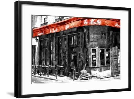 Traditional Parisian Bar II-Philippe Hugonnard-Framed Art Print