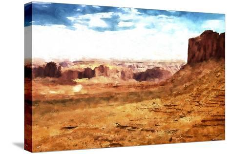 Monument Valley Arizona-Philippe Hugonnard-Stretched Canvas Print