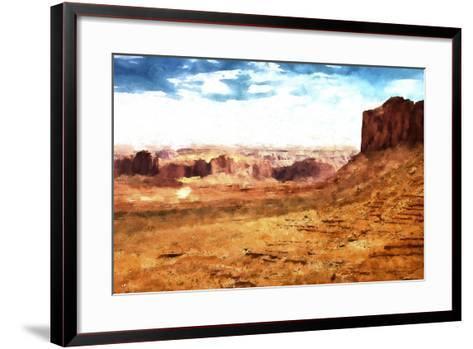 Monument Valley Arizona-Philippe Hugonnard-Framed Art Print
