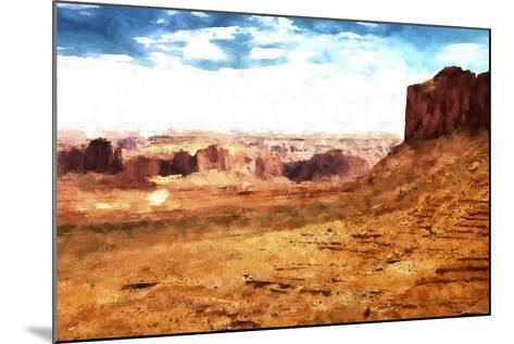 Monument Valley Arizona-Philippe Hugonnard-Mounted Giclee Print
