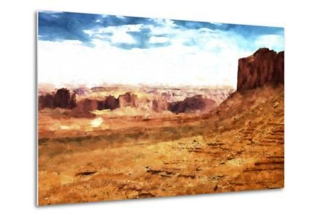 Monument Valley Arizona-Philippe Hugonnard-Metal Print