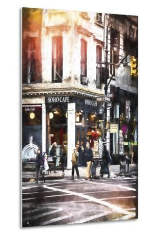 Soho Cafe-Philippe Hugonnard-Metal Print