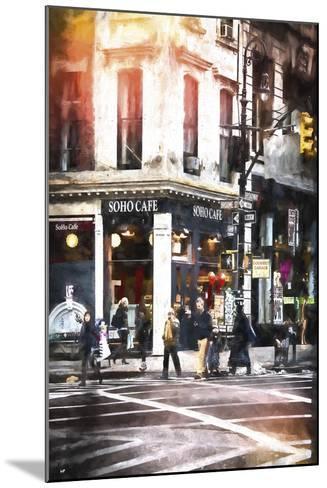 Soho Cafe-Philippe Hugonnard-Mounted Giclee Print