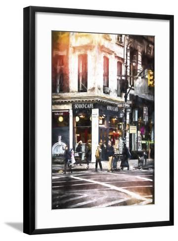 Soho Cafe-Philippe Hugonnard-Framed Art Print