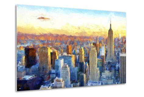 New York View-Philippe Hugonnard-Metal Print