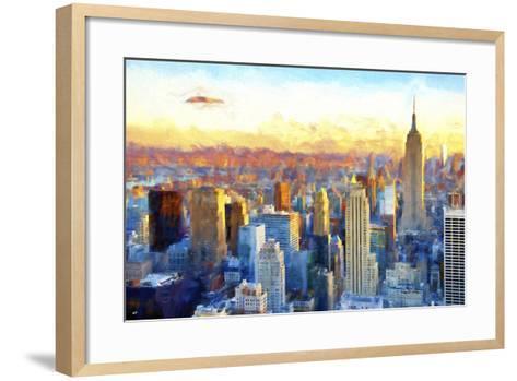 New York View-Philippe Hugonnard-Framed Art Print