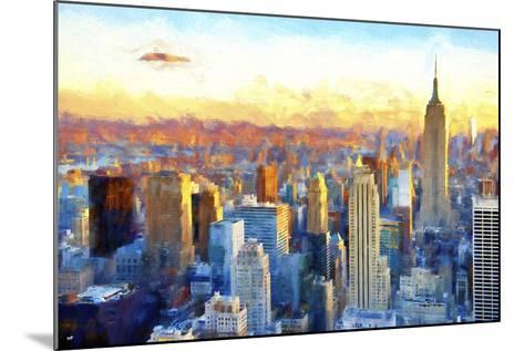 New York View-Philippe Hugonnard-Mounted Giclee Print