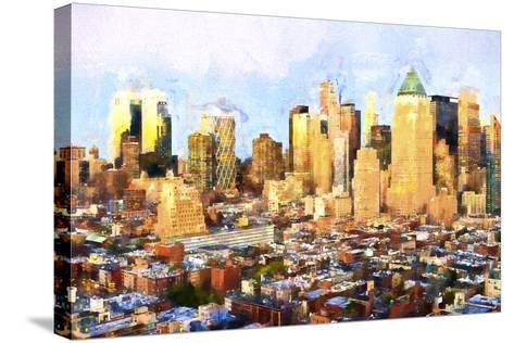 Sunset Skyline-Philippe Hugonnard-Stretched Canvas Print