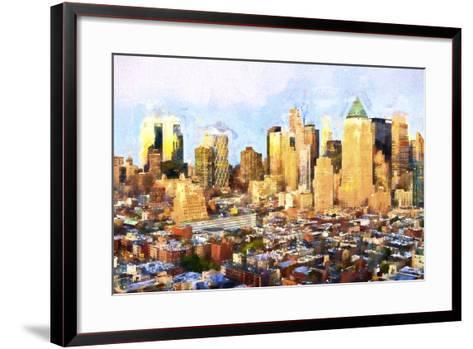 Sunset Skyline-Philippe Hugonnard-Framed Art Print