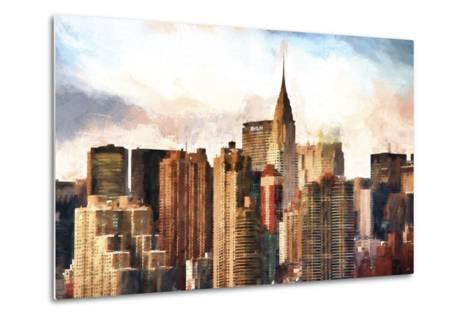 New York Skyscrapers-Philippe Hugonnard-Metal Print