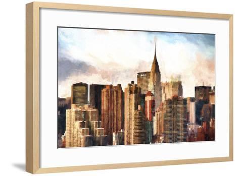 New York Skyscrapers-Philippe Hugonnard-Framed Art Print