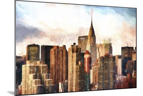 New York Skyscrapers-Philippe Hugonnard-Mounted Giclee Print