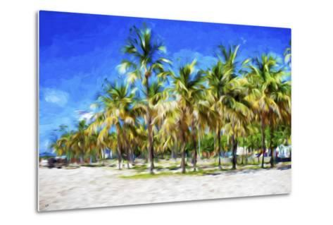 Miami Beach II - In the Style of Oil Painting-Philippe Hugonnard-Metal Print