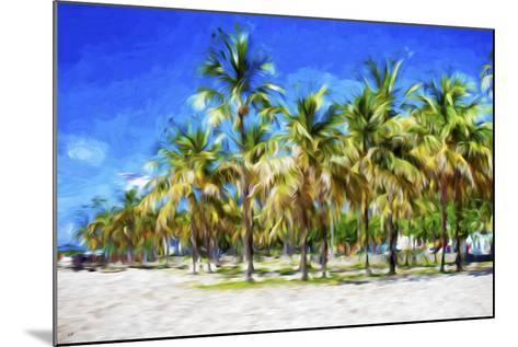 Miami Beach II - In the Style of Oil Painting-Philippe Hugonnard-Mounted Giclee Print