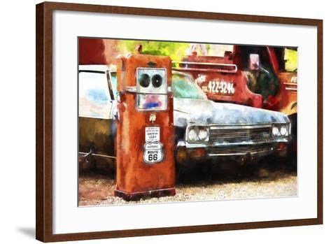 Historic Route 66-Philippe Hugonnard-Framed Art Print