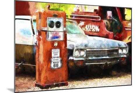 Historic Route 66-Philippe Hugonnard-Mounted Giclee Print