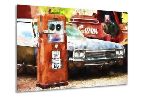 Historic Route 66-Philippe Hugonnard-Metal Print