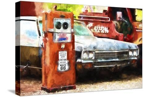 Historic Route 66-Philippe Hugonnard-Stretched Canvas Print