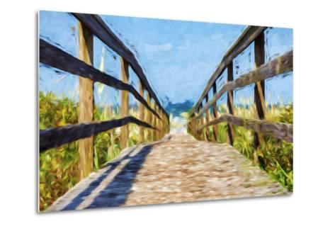 Way to the Beach II - In the Style of Oil Painting-Philippe Hugonnard-Metal Print