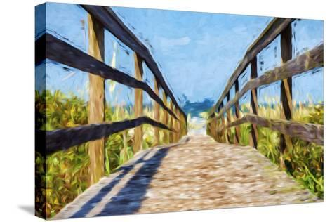 Way to the Beach II - In the Style of Oil Painting-Philippe Hugonnard-Stretched Canvas Print