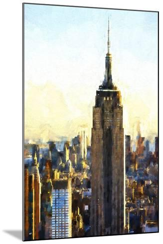 Empire State Building-Philippe Hugonnard-Mounted Giclee Print