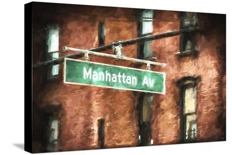 Manhattan Avenue-Philippe Hugonnard-Stretched Canvas Print