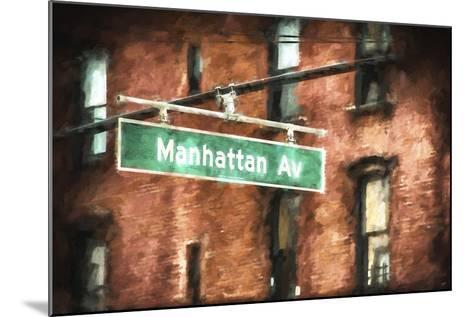 Manhattan Avenue-Philippe Hugonnard-Mounted Giclee Print