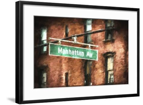 Manhattan Avenue-Philippe Hugonnard-Framed Art Print