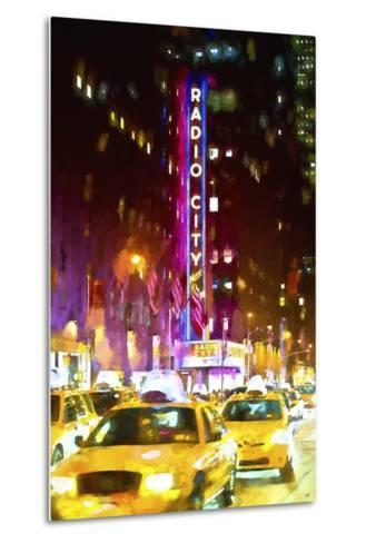 Manhattan City-Philippe Hugonnard-Metal Print
