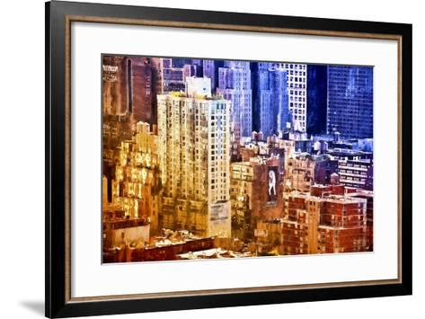 New York District Colors-Philippe Hugonnard-Framed Art Print
