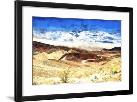 Death Valley California-Philippe Hugonnard-Framed Art Print