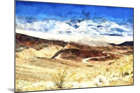 Death Valley California-Philippe Hugonnard-Mounted Giclee Print