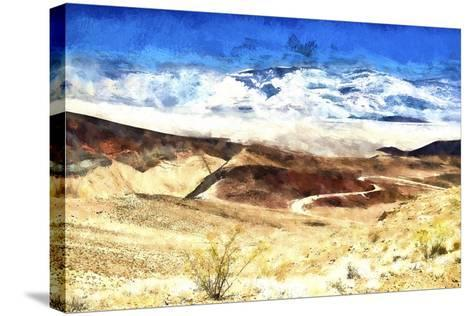 Death Valley California-Philippe Hugonnard-Stretched Canvas Print