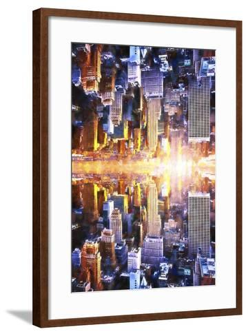 NYC Twin-Philippe Hugonnard-Framed Art Print