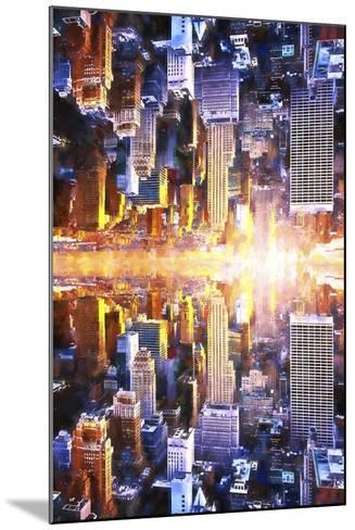 NYC Twin-Philippe Hugonnard-Mounted Giclee Print