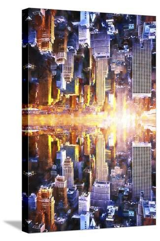 NYC Twin-Philippe Hugonnard-Stretched Canvas Print