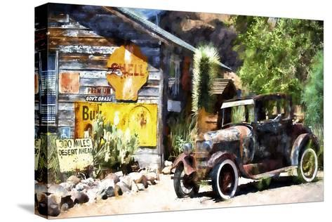 Old American Car-Philippe Hugonnard-Stretched Canvas Print