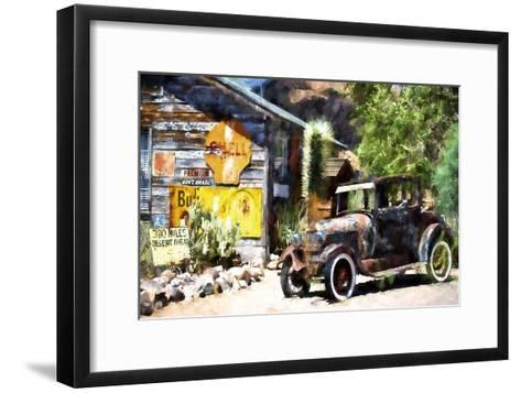 Old American Car-Philippe Hugonnard-Framed Art Print