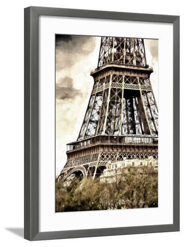 Detail Eiffel Tower-Philippe Hugonnard-Framed Art Print