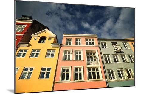 Colourful Houses in Copenhagen, Europe-pink candy-Mounted Photographic Print