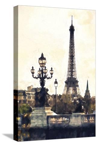 Paris So Romantic-Philippe Hugonnard-Stretched Canvas Print